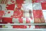 Red Patchwork Throw